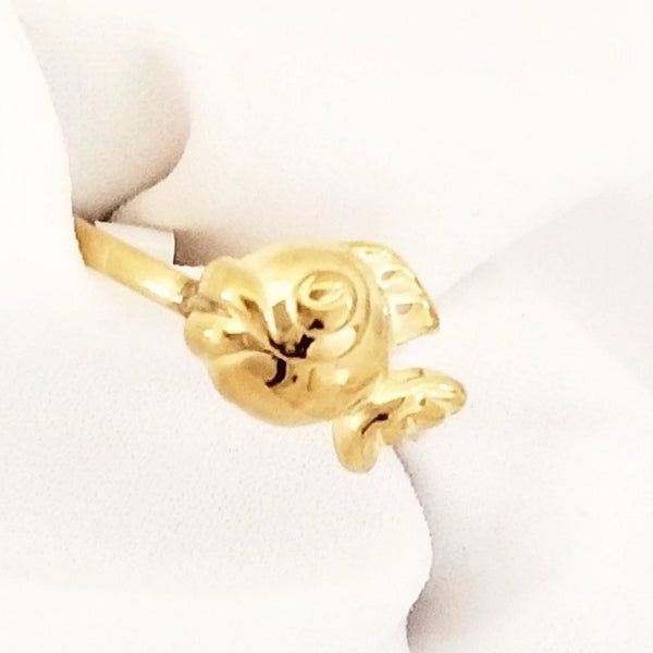 Gold Fish Gold Ring