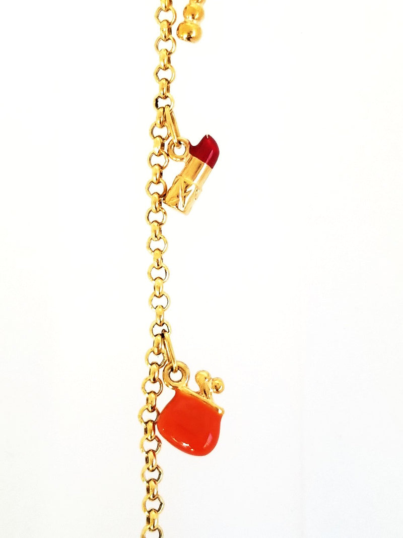 Gold Charm Bracelet - Cape Diamond Exchange