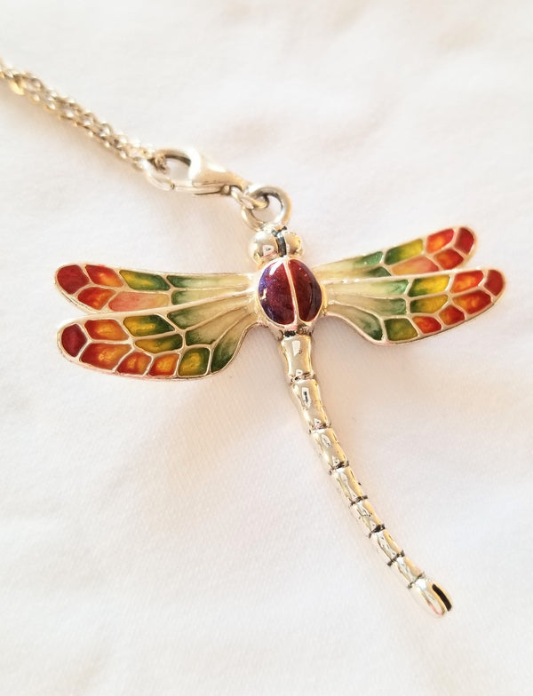 Dragon Fly Silver Pendant - Cape Diamond Exchange