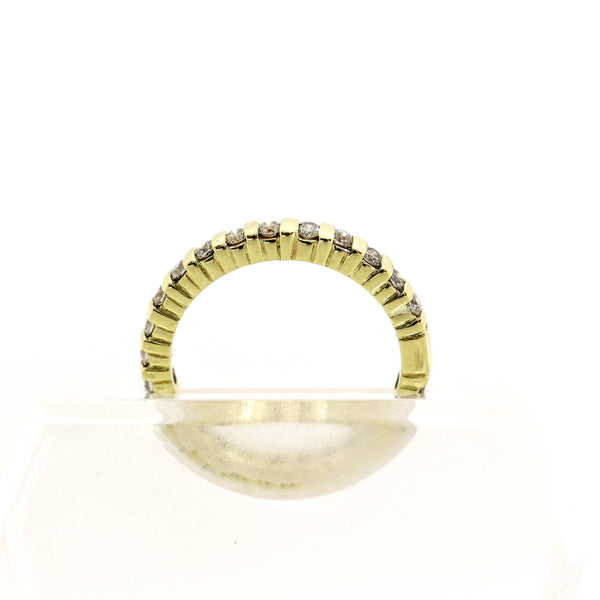 18kt Yellow Gold Diamond Full Eternity Ring - Cape Diamond Exchange