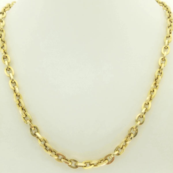9 kt Yellow Gold Anchor Chain - Cape Diamond Exchange