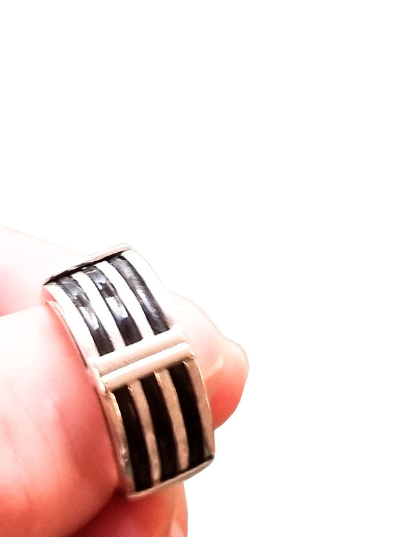 Elephant Hair Silver Ring - Cape Diamond Exchange