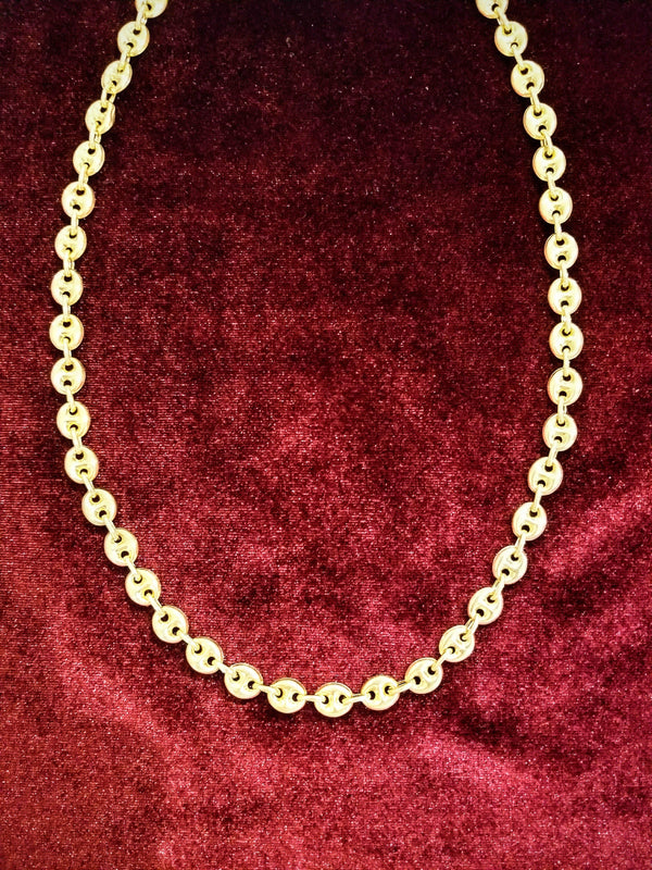 18 kt Yellow Gold Gucci Necklace - Cape Diamond Exchange