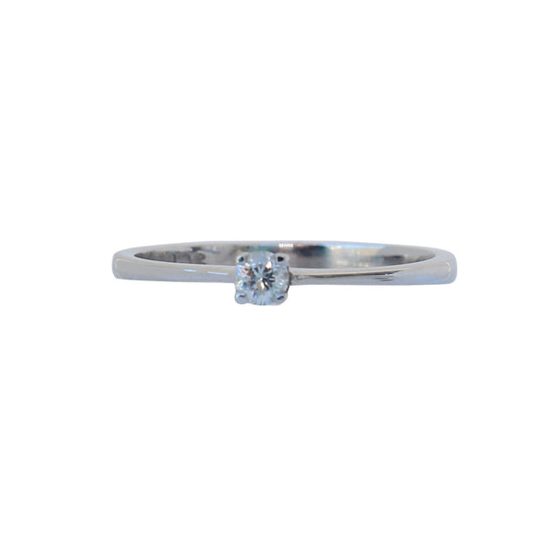 White Gold Engagement Ring - cape diamond exchange