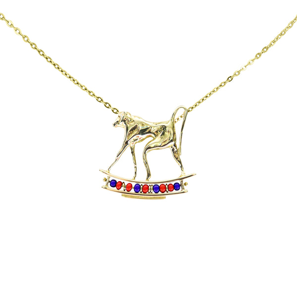 Gold Baboon Pendant - Cape Diamond Exchange