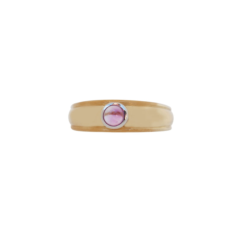 Yellow Gold Amethyst Ring - cape diamond exchange