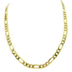 9kt Yellow Gold Figaro Chain - Cape Diamond Exchange