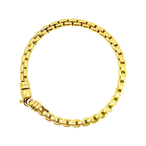 9 kt Yellow Gold Fope Bracelet - Cape Diamond Exchange