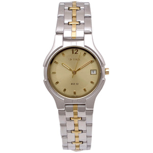 Sicura Men´s Watch SAMG 2772 Silver Quartz Stainless Steel Two Tone