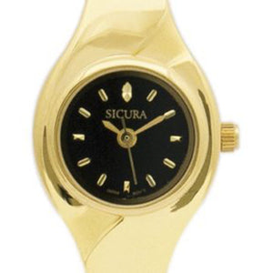Sicura Women´s Watch SJD1952 Quartz Stainless Steel Gold Tone