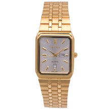 Sicura Men´s Watch SJD1972 Silver Quartz Stainless Steel Gold Tone