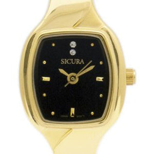 Sicura Women´s Watch SJD1982 Quartz Stainless Steel Gold Tone