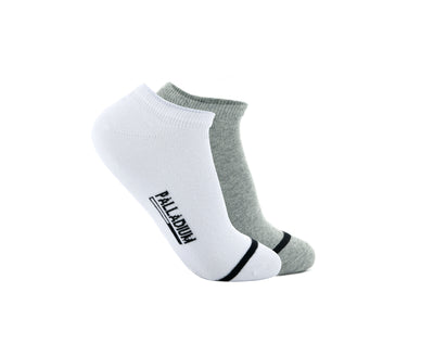 SX9109-995 | WOMEN'S BASIC ANKLE | WHITE/GREY