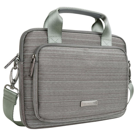 Evecase 9.7 ~ 10.1 inch Laptop/Tablet Suit Fabric Briefcase Messenger Bag