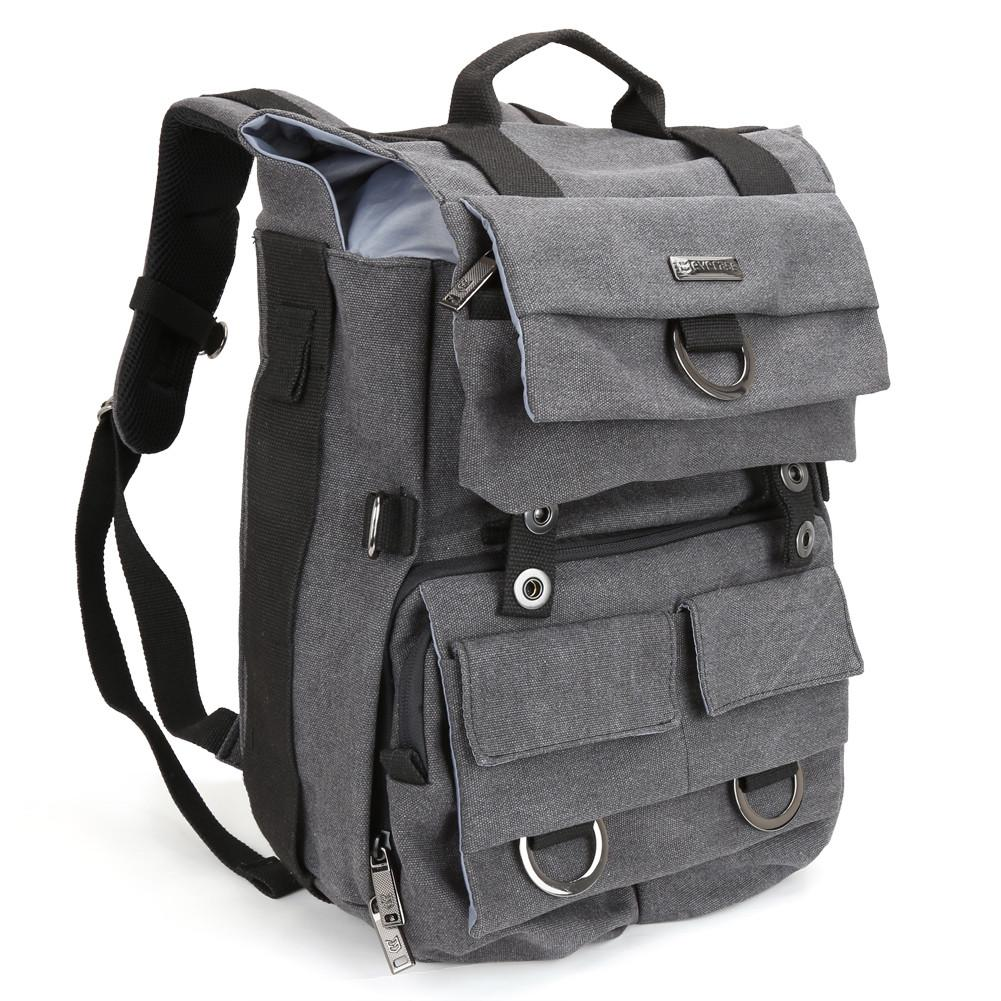 0740c49d3c1 Evecase DSLR Camera Laptop Canvas Backpack with Rain Cover – evecase