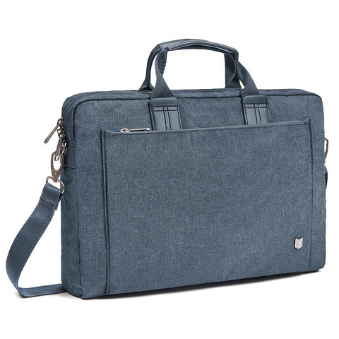 Evecase City 15 - 15.6 inch Laptop Briefcase Messenger Bag Professional Water Resistant Business Laptop Shoulder Bag