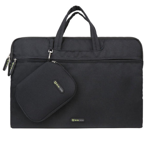 Evecase 15 - 15.6 Inch Laptop Carrying Case with Handle + Acessories Bag and Mouse Pad