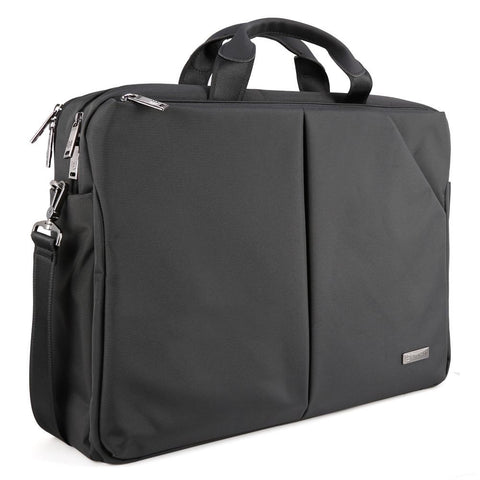 Evecase Waterproof Carrying Messenger Bag with Shoulder Strap fit up to 17.3 inch Laptop Ultrabook Chromebook