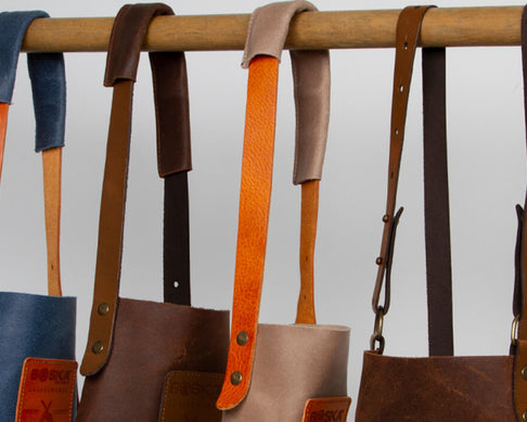 How do you clean a leather Mr. Smith apron? 5 tips!