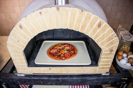 Pizza Stone Deluxe Rectangle - 15.7x12.6 inch