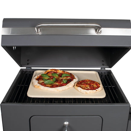 BOSKA 320511 Pizza Stone Deluxe Rectangle - 15.7x12.6 inch
