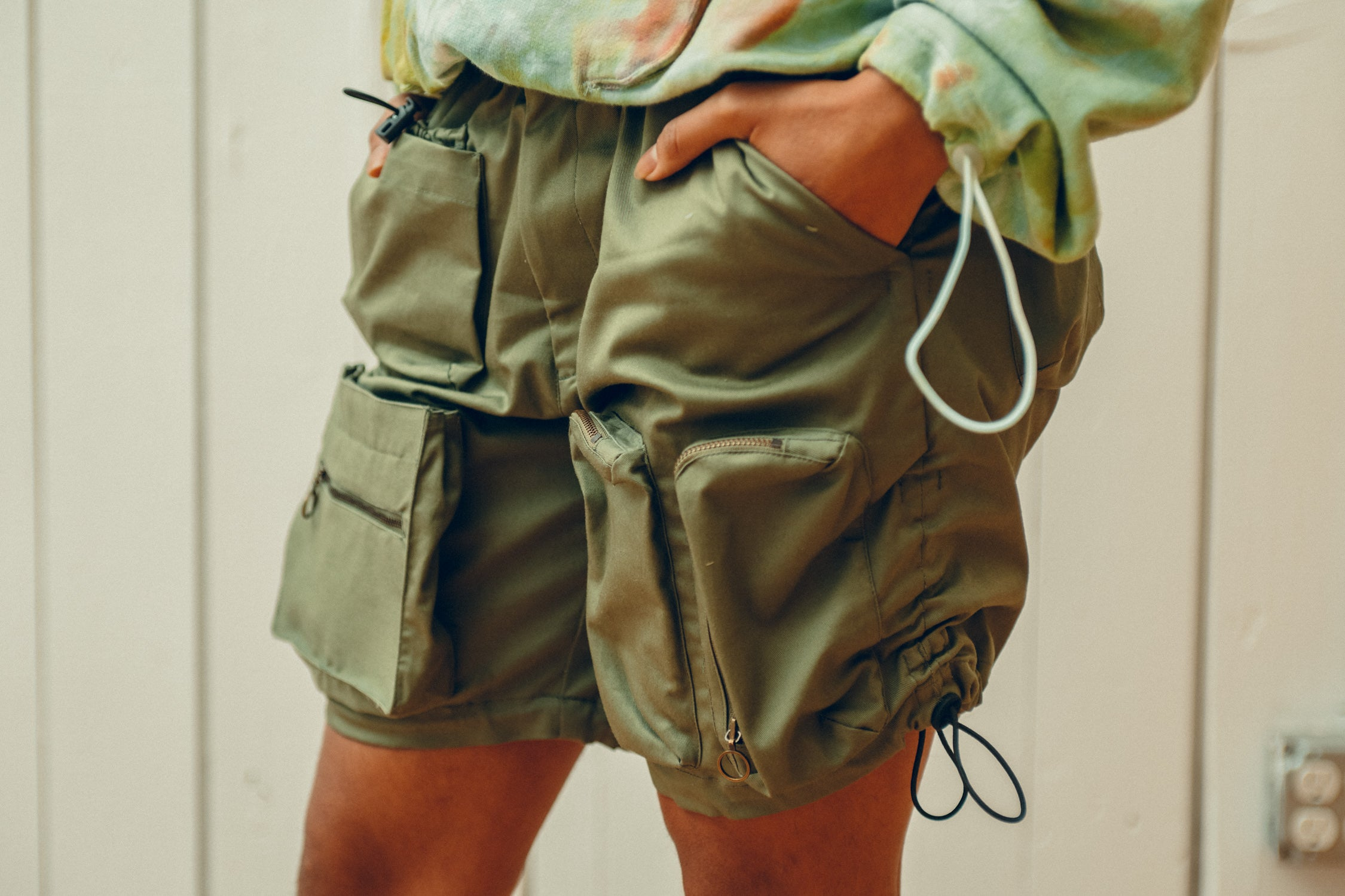 Multi-Pocketed Shorts