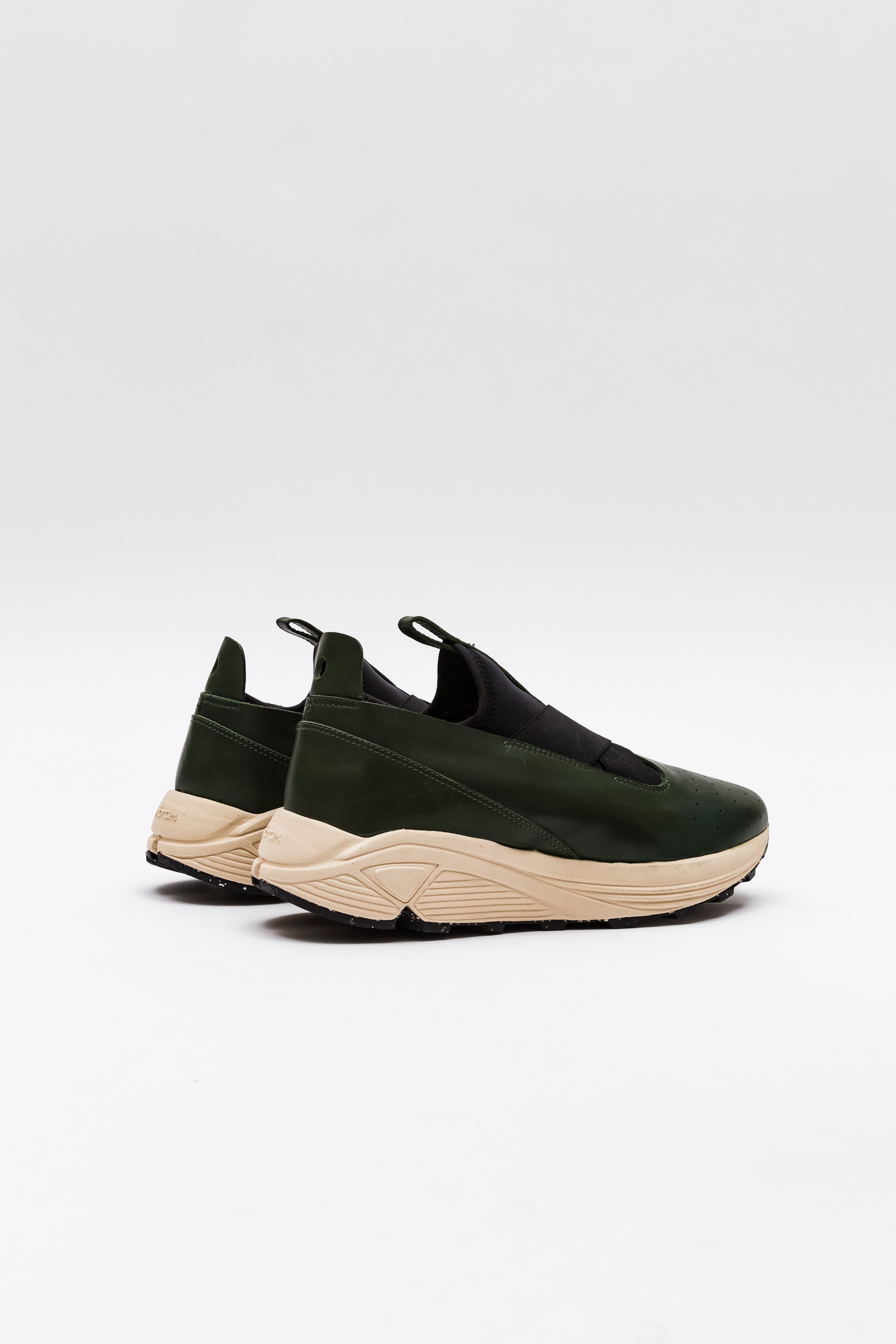 Marquez Low-Top, Green & Cream