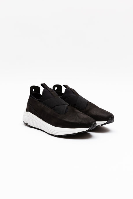 Marquez Low-Top, Black & White Classic Sneaker
