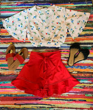 Mellow Shorts-Red