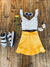 Mellow Shorts-Yellow