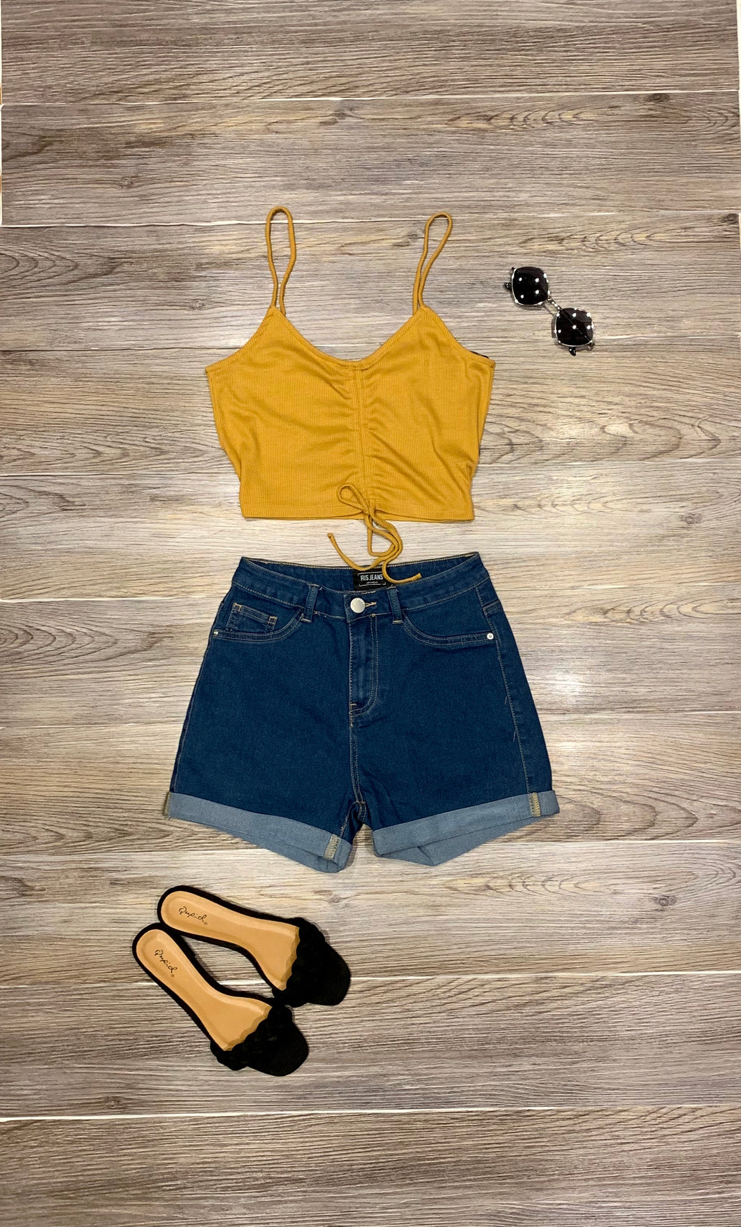 Mia High Waist Shorts
