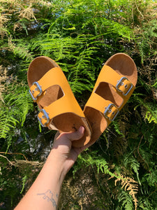 Salina Sandals-Yellow