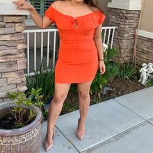 Orange Slice Dress