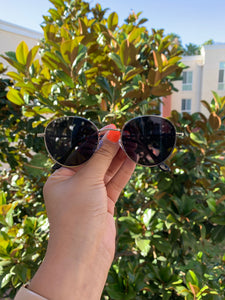 Hot Girl Summer Sunnies-Silver