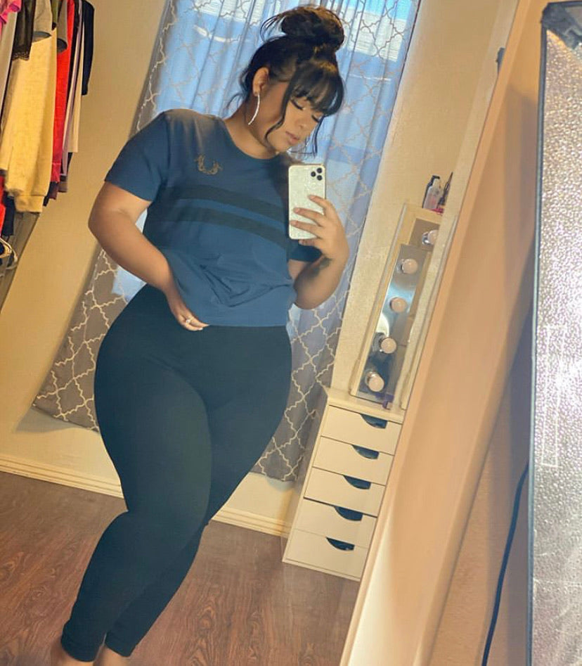 Looking Snatched Leggings-Plus Size