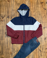 Danielle Wind Breaker Jacket-Navy