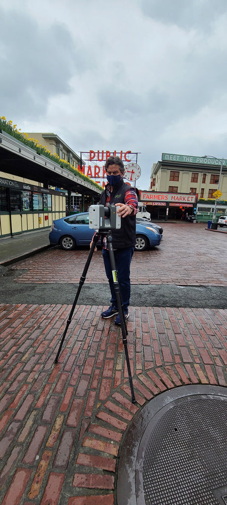 3D Laser Scanning with the RTC360 at Pike Place Market