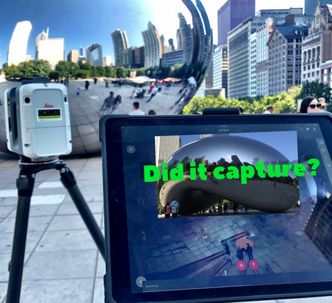 RTC360 vs The Chicago Bean - Datum Tech Solutions