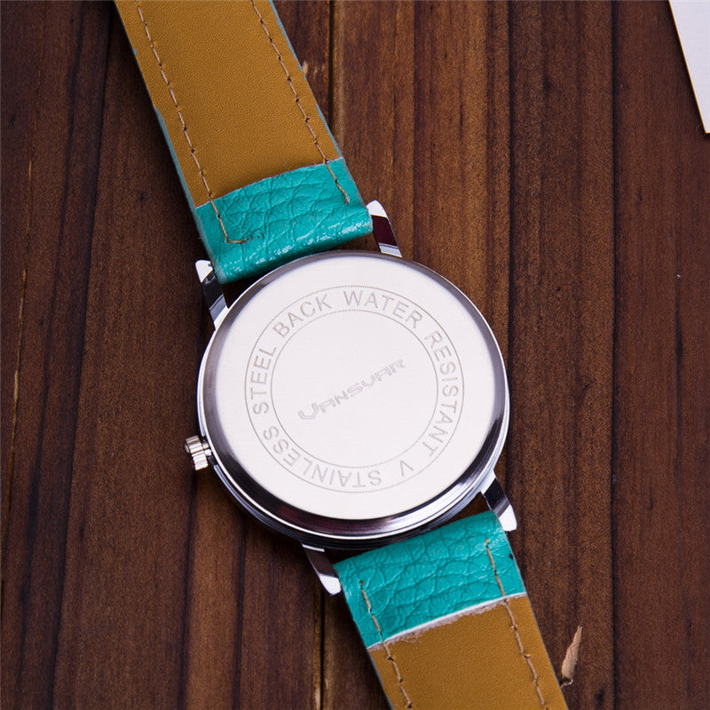 Leather Banded Vintage World Map Watches – Go Journey Online