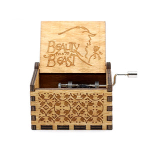Beauty And The Beast Musical Box