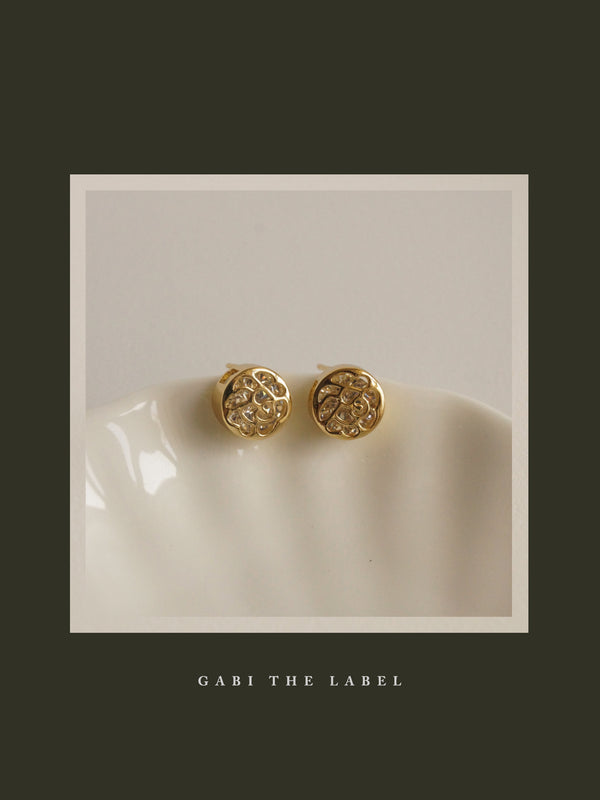 LUCID Earstuds - Clear *Gold-plated