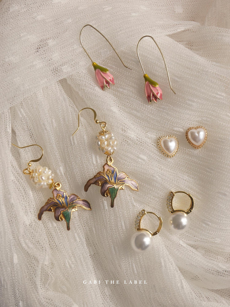 CHO Earrings *Gold-plated