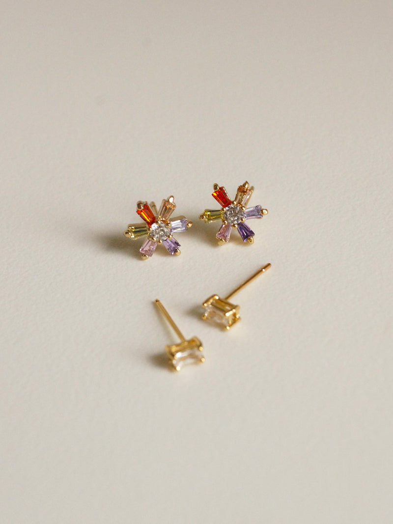 INTUITION Earstuds *Gold-plated