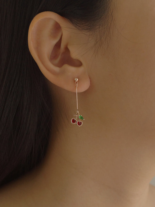 ISHA Little Cherry Earrings