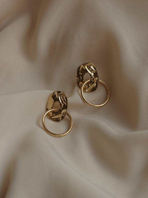 AITUTAKI Earrings - Gold *S925 Earposts