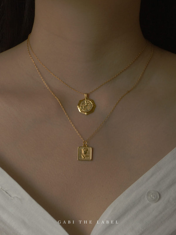 AMEDE Necklace *18K Gold-filled S925