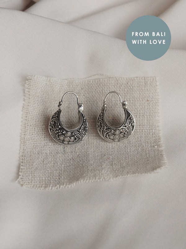 ANNISA Hoops *925 sterling silver // GABI EXCLUSIVE