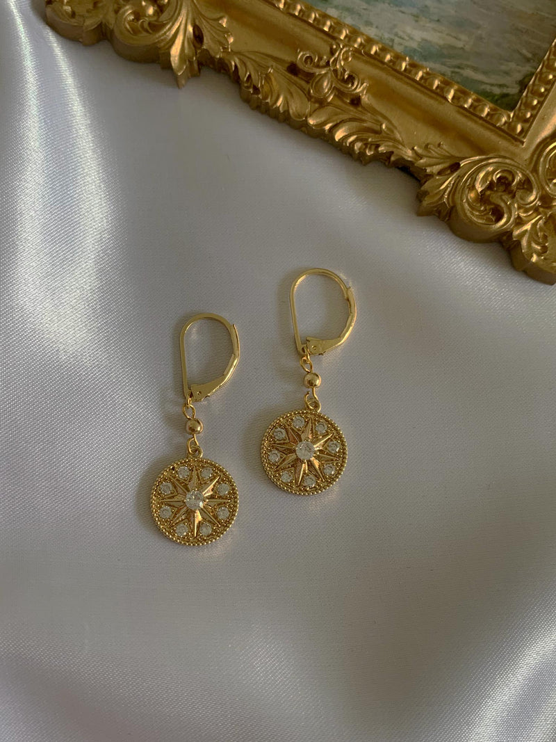 Arey Earrings *Gold-plated (GABI PREMIUM)