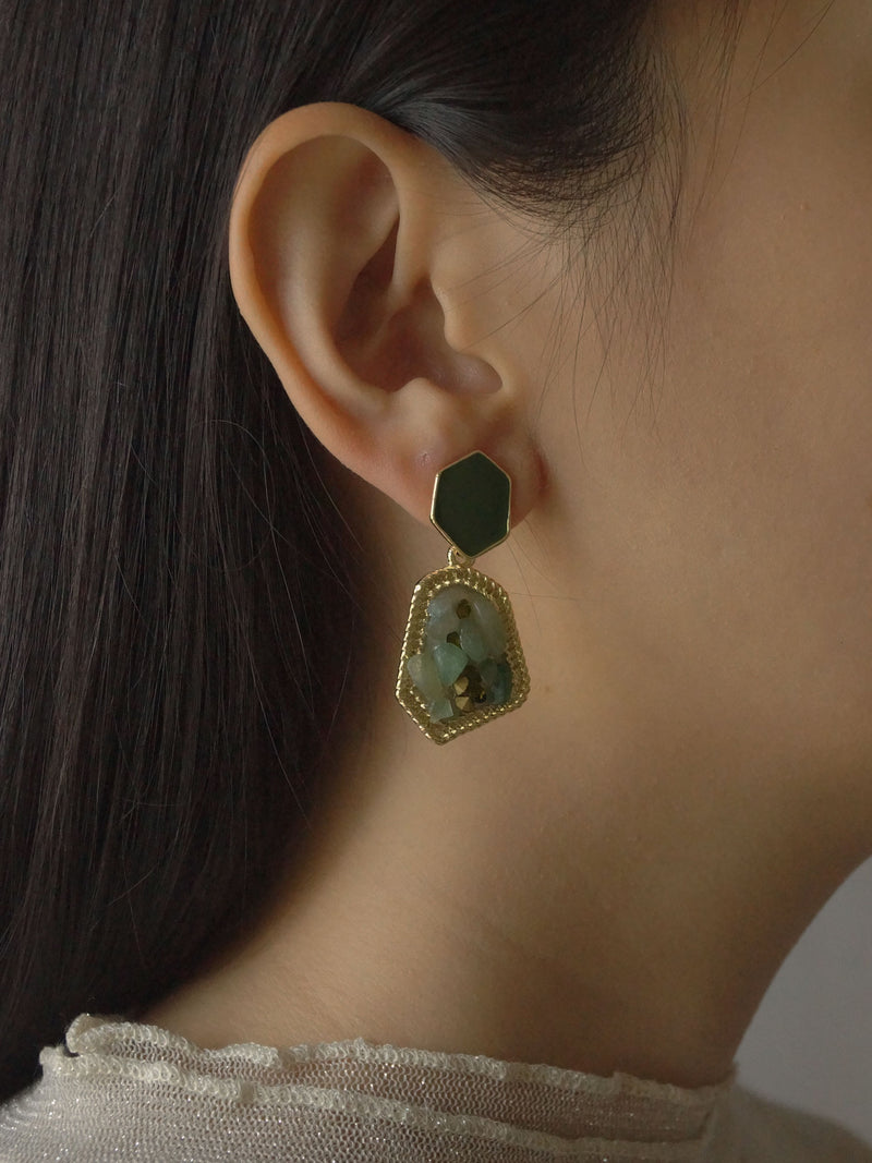 AYAH Earrings - Nature *S925 Earposts