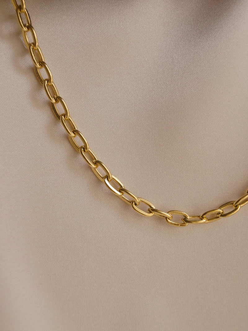 AYN Chain Necklace *14K Gold-plated